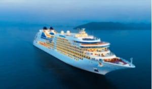 Stock photo of a cruise ship