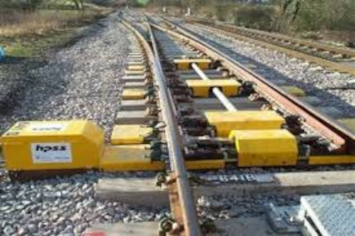 Image 3: Track switching and heating